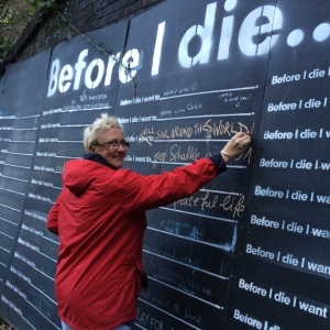 Before I die I WILL sail around the world