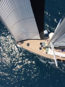 Riggers Eye View of Magic in Barcelona waters